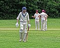 Old Finchleians Cricket Club v Highgate Taverners Cricket Club at Finchley, London, England 10.jpg