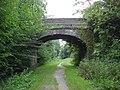 Old Railway bridge, Railway Walk, Clare Country Park - geograph.org.uk - 979787.jpg