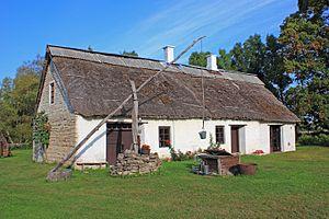 Orissaare Parish - Farmhouse in Järveküla