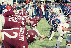 Egg Bowl - Ole Miss and Mississippi State meet in the 1975 Battle for the Golden Egg