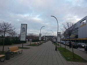 Sport in Lithuania - Olympic Glory Alley in Vilnius