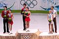 Olympics 2010 Pairs figure skating podium.jpg
