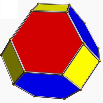 Snub polyhedron - Image: Omnitruncated tetrahedron