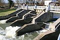 One sluice open - geograph.org.uk - 1179142.jpg
