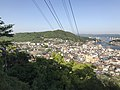 Onomichi Bridge and Shin-Onomichi Bridge from Senkoji Temple.jpg