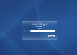 OpenIndiana-b147-login-screen.png