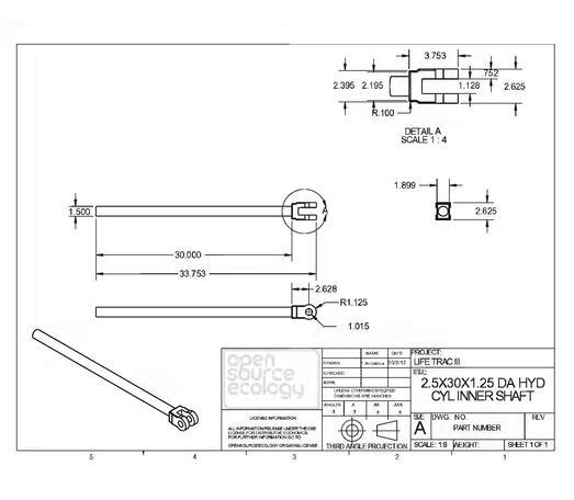 Description Open Source Ecology - LifeTrac - Fabrication Drawings.pdf