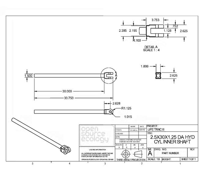 File Open Source Ecology Lifetrac Fabrication Drawings