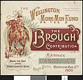"""Opera House (Wellington) -The Wellington More Men Fund. The Brough contribution. """"Dandy Dick"""". Matinee, Wednesday Mar(ch) 21st, 1900. (Programme cover). (5015574371).jpg"""