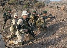 Soldati statunitensi e francesi nel Gibuti