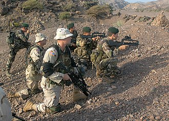 Operation Enduring Freedom – Horn of Africa - Image: Operation Enduring Freedom djibouti 2