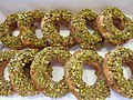 Orange honey pistachio doughnuts (9739047822).jpg