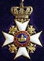 Order of the Wendish Crown commander badge (Mecklenburg-Strelitz 1880-1900) - Tallinn Museum of Orders.jpg