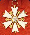 Order of the White Star 1st class badge obverse (Estonia before 1940) - Tallinn Museum of Orders.jpg