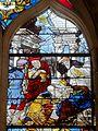 Orrouy (60), église Saint-Rémi, verrière n° 1 - Adoration des Mages.JPG