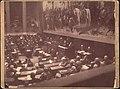 Országgyűlés a Magyar Nemzeti Múzeumban 1900 körül (Ellinger Ede).jpg