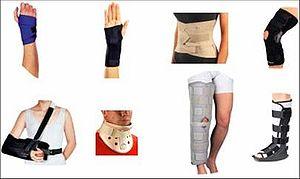 Ankle brace - Image: Orthotics