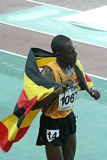 Moses Ndiema Kipsiro Ugandan long-distance runner