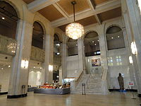 Osaka Municipal Museum of Art - central hall - DSC05819.JPG
