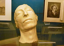 Carl Maria von Webers Totenmaske im Ostholstein-Museum Eutin (Quelle: Wikimedia)