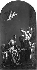 Ottino, Pasquale - The Madonna with St. Lorenzo Giustiniani and a Venetian Nobleman - Google Art Project.jpg