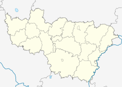 Vyazniki is located in Vladimir Oblast