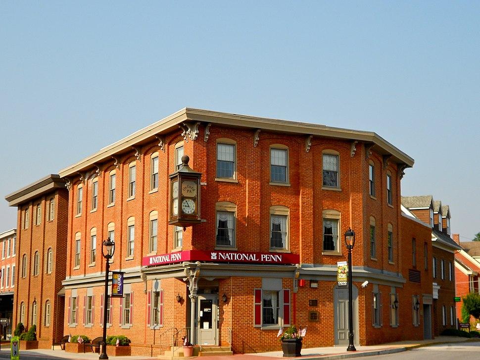 Oxford Historic District bank PA