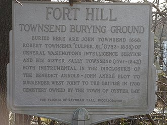 Townsend Cemetery - Photo of Townsend Cemetery marker, 2009