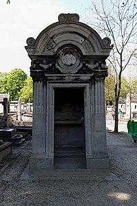 P re lachaise cemetery division 81 wikimedia commons for 50370 la chaise baudouin