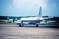 P-3 Orion of the U.S. Customs and Border Protection at Philip S. W. Goldson International Airport (2).jpg