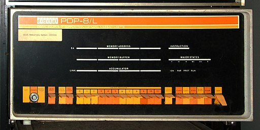PDP-8L on ICS Astrotype system