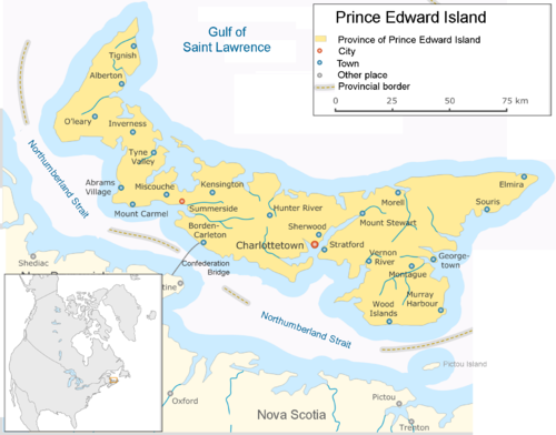 Prince Edward Island - Wikipedia, the free encyclopedia