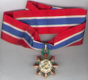 Philippine Legion of Honor - The Philippine Legion of Honor in the rank of Commander