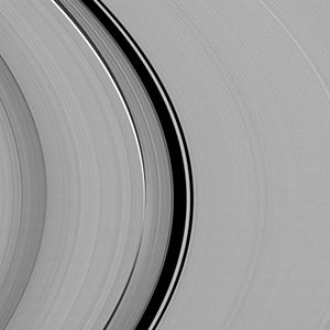 Orbital resonance - Image: PIA17173 Titan resonances in Saturn's C ring