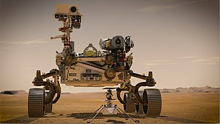 Mars 2020 A 2020 astrobiology Mars rover mission by NASA