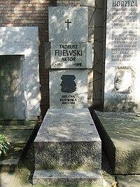 PL Warsaw Stare Powązki tadeusz fijewski.jpg