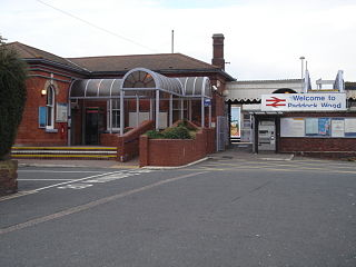 Paddock Wood railway station