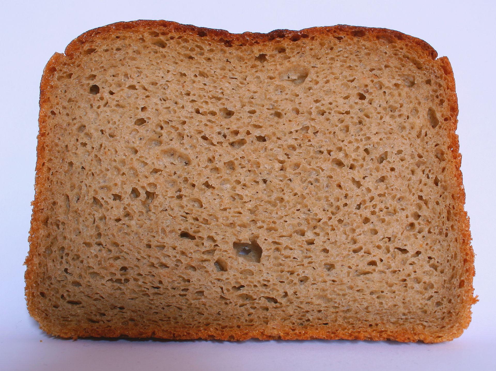 Abgepacktes Brot Haltbarkeit