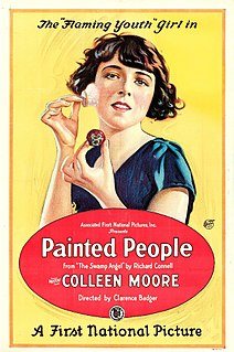 <i>Painted People</i> 1924 film directed by Clarence G. Badger