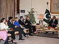 Pakistani President Asif Ali Zardai Meets With U.S. Secretary of State Hillary Rodham Clinton, Under Secretary Otero, USAID Administrator Shah, Ambassador Patterson and Special Representative Holbrooke (4809266150).jpg