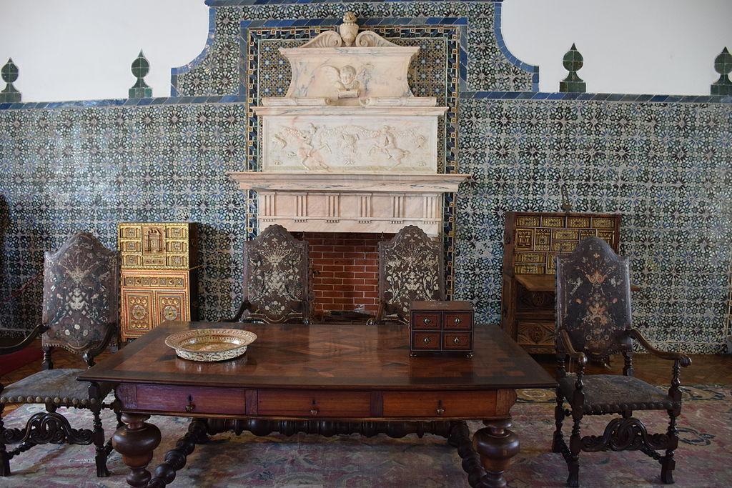 Interior Palacio Nacional de Sintra