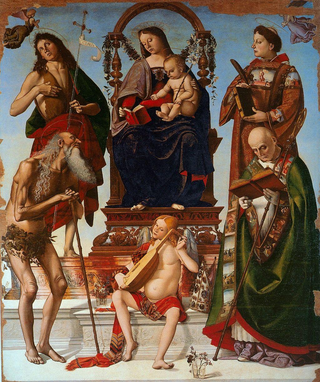 Pala di San Onofrio di Luca Signorelli
