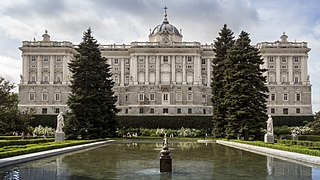 Royal Palace of Madrid Official residence of the Spanish Royal Family