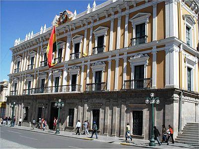 Palacio de Gobierno Bolivia  Wikipedia la enciclopedia libre