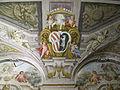 Palazzo corsini, appartamenti estivi, salone, stemma corsini-altoviti.JPG