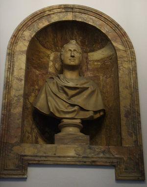 Emanuele Fenzi - Bust of Emanuele Fenzi in Palazzo Fenzi by Lorenzo Bartolini