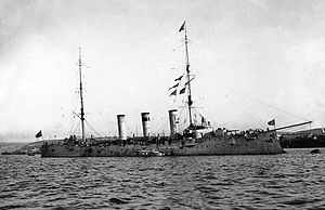 Soviet cruiser Komintern - Pamiat' Merkuria in 1914