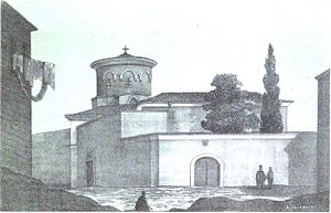 Church of Saint Mary of the Mongols - The church in 1877