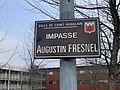 Panneau de l'impasse Augustin Fresnel (Saint-Herblain).jpg