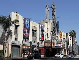 theater and movie theater in Hollywood, Los Angeles, California